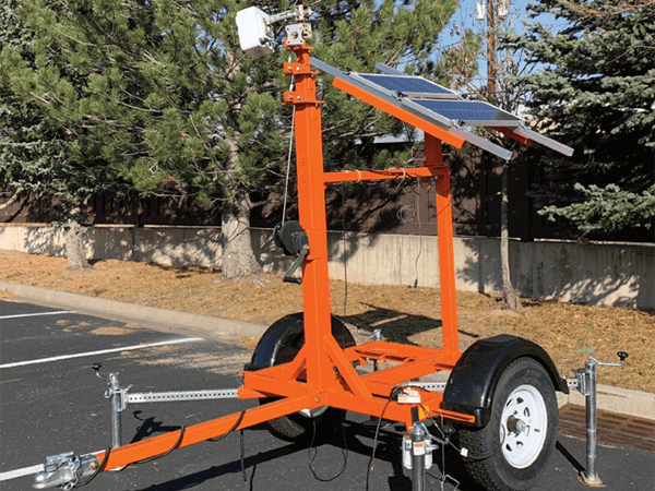 Remote Jobsite Portable Trailer